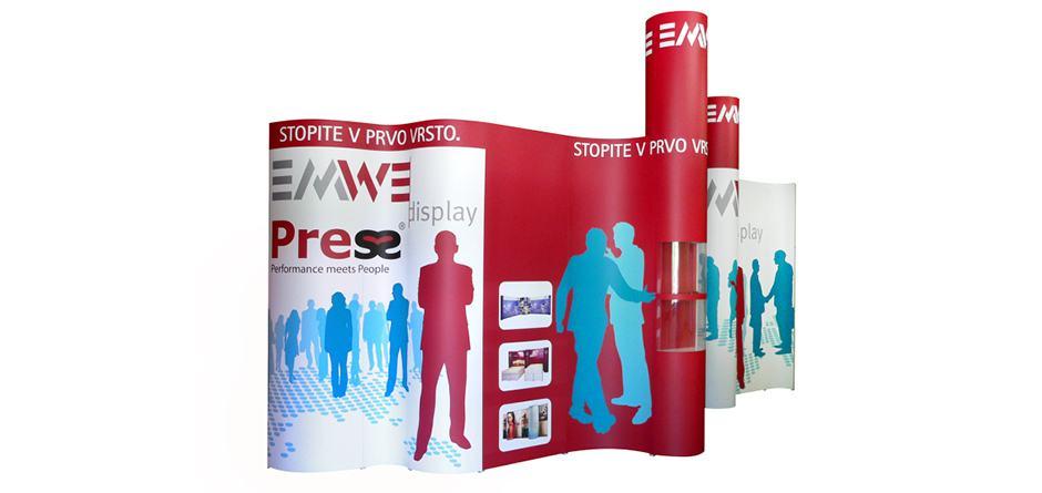 Press Presentatiewanden